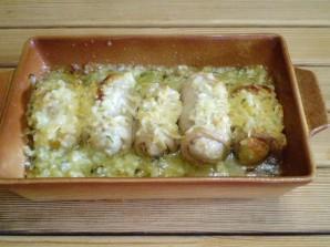 Кафтаны с картофелем и сыром - фото шаг 15