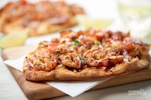 Барбекю пицца с креветками - фото шаг 6