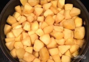 Яблочный коблер - фото шаг 4