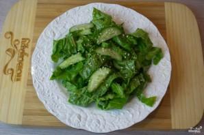 Диетический салат с пекинской капустой - фото шаг 7