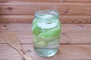 Компот из яблок с лимонной кислотой на зиму - фото шаг 3
