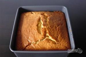 Пирог с персиками и карамелью - фото шаг 7