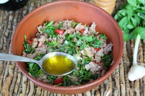 Салат из капусты с говядиной - фото шаг 7