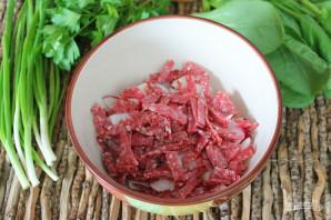 Салат с редиской и колбасой - фото шаг 3