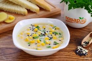 Быстрый куриный суп с кукурузой и имбирем - фото шаг 7