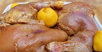 Карамелизированный рис с курицей - фото шаг 1