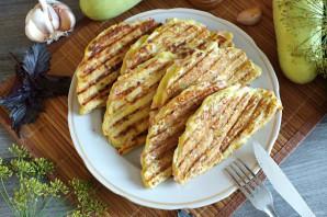 Чебуреки из кабачков с ветчиной и сыром - фото шаг 11