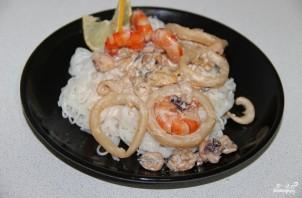 Стеклянная лапша с морепродуктами - фото шаг 4
