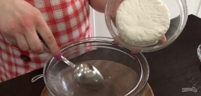Творожный торт с вишневым желе - фото шаг 1