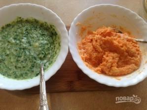 Морковно-шпинатное суфле - фото шаг 7