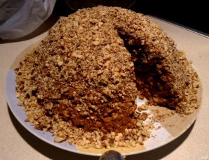 Торт муравейник из печенья - фото шаг 5