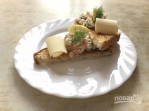 """Рыбный салат """"Раковые шейки"""" - фото шаг 9"""