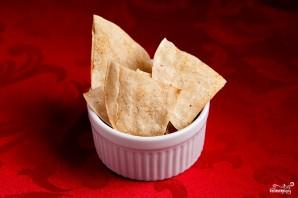 Кукурузные чипсы начос - фото шаг 3