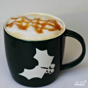 Кофе с пенкой - фото шаг 8