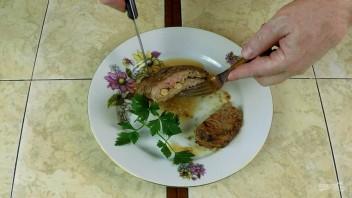 Жареная говяжья вырезка (сочное мясо средней прожарки) - фото шаг 6