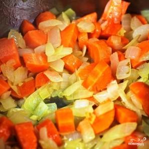 Мидии с овощами в белом вине - фото шаг 5