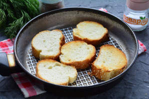 Бутерброды с рикоттой и красной рыбой - фото шаг 3