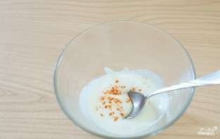 Соус для салата из йогурта - фото шаг 1