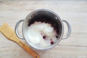 Варенье из замороженной вишни без косточек - фото шаг 5
