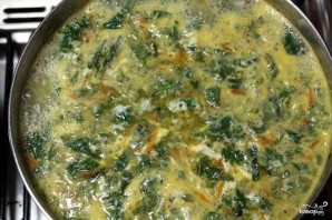 Суп из крапивы с мясом - фото шаг 12