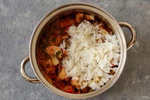 Цветная капуста с рисом на зиму - фото шаг 7