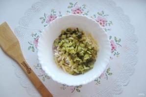 Салат с мясом и жареными шампиньонами - фото шаг 4