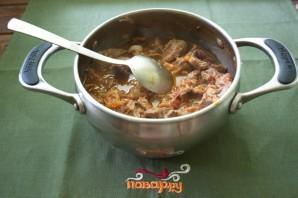 Мясо, тушеное с овощами - фото шаг 4