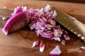 Мексиканский салат с макаронами - фото шаг 2