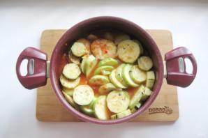 Соте из баклажанов и картофеля - фото шаг 8