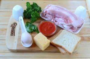 Сэндвич в беконе - фото шаг 1