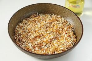 Жареная вермишель с рисом - фото шаг 3