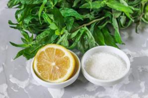 Лимонад с мятой в домашних условиях - фото шаг 1
