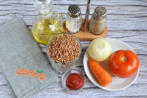 Гречка с помидорами - фото шаг 1