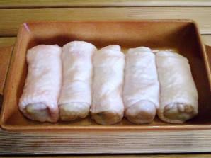 Кафтаны с картофелем и сыром - фото шаг 13