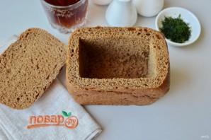 Окрошка в хлебе - фото шаг 2