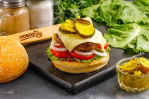 Бифбургер - фото шаг 8