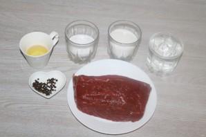 Говядина, маринованная в водке - фото шаг 1