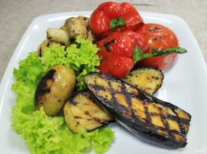 Овощи на мангале - фото шаг 5