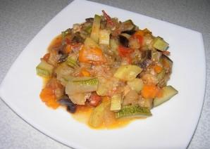 Овощное рагу со сметаной - фото шаг 7