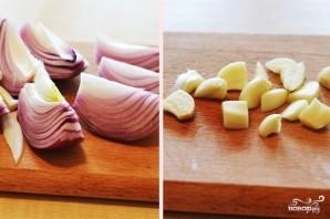 Томатный суп-пюре с сыром - фото шаг 2