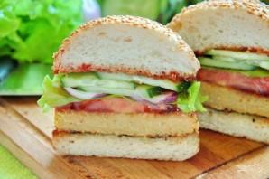 Вегетарианский бургер (мастер-класс) - фото шаг 16