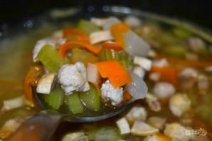 Диетический суп с сельдереем - фото шаг 8