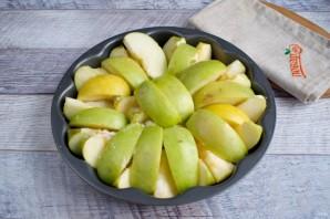 Простой перевернутый яблочный пирог - фото шаг 3