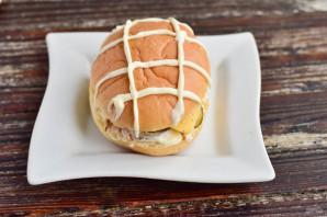 """Бутерброд """"Черепаха"""" - фото шаг 6"""