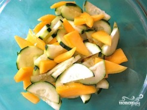 Салат с манго - фото шаг 4