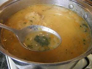 Гороховый суп с цыпленком - фото шаг 7