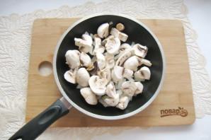 Тыква с грибами - фото шаг 5
