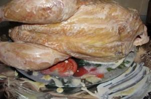 Фаршированная курица черносливом и курагой - фото шаг 2