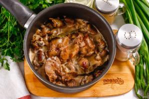 Куриные потрошки в сливочном соусе - фото шаг 7