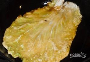 Жареная китайская капуста - фото шаг 6